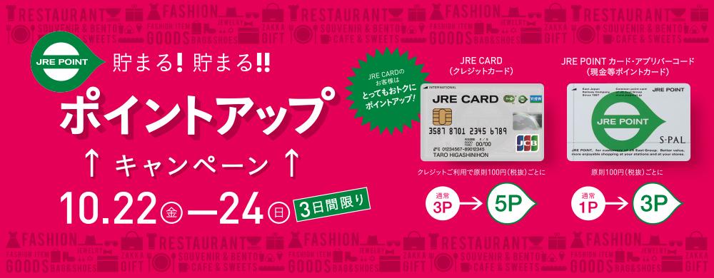 202110JRE CARDポイントアップCP